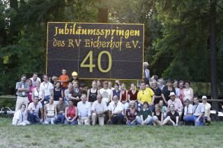 Gruppenfoto 40 Jahre Eicherhof